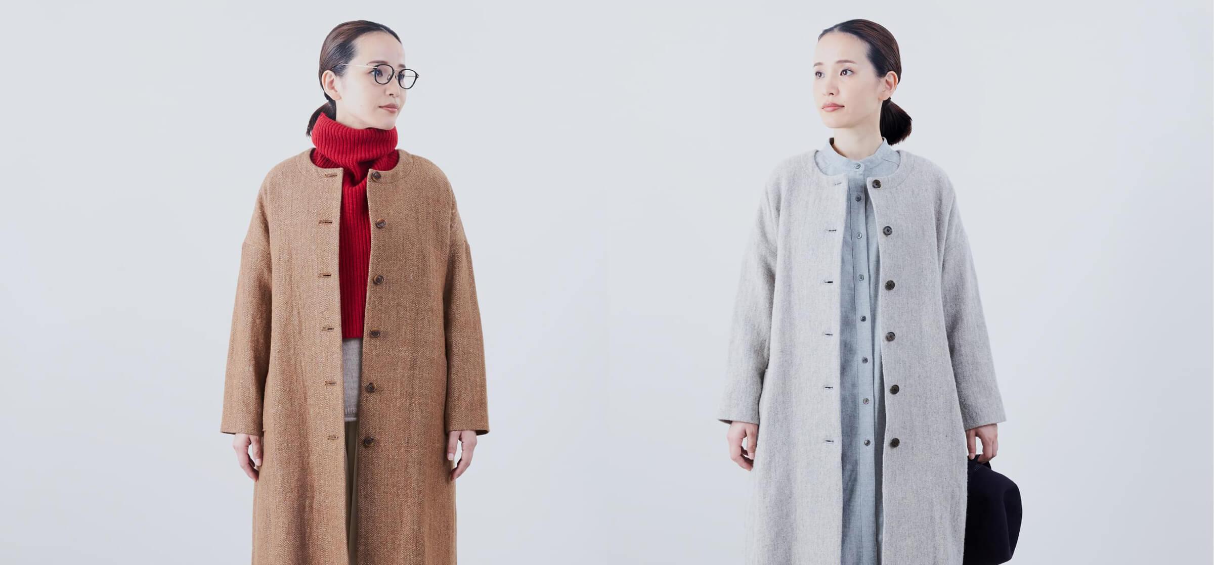 noflの冬コート